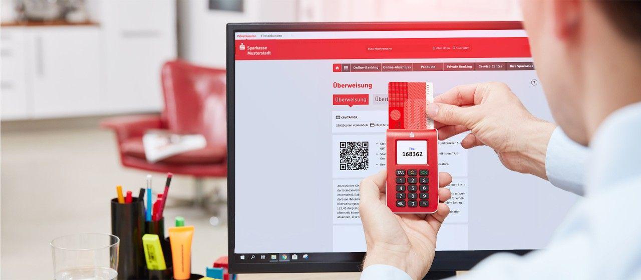 Online Banking Mit Chiptan Sparkasse Krefeld